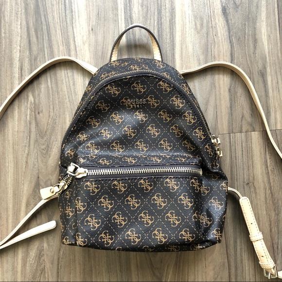 88eef25a3c4 GUESS Leeza Mini Backpack